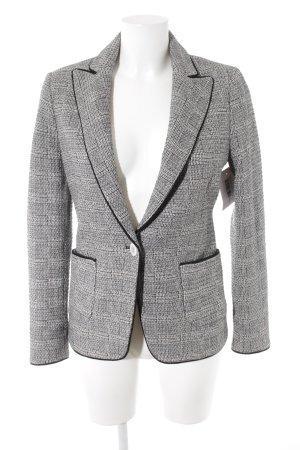 Zara Woman Gebreide blazer glencheck patroon zakelijke stijl
