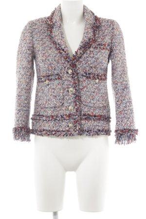 Zara Woman Gebreide blazer gestippeld extravagante stijl