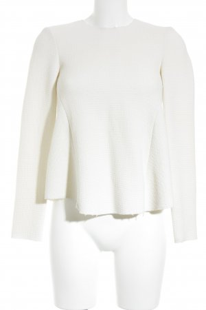 Zara Woman Maglione lavorato a maglia beige chiaro stile casual