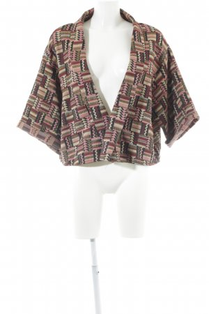 Zara Woman Sweat Blazer Aztec pattern elegant