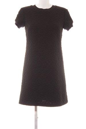 Zara Woman Sweatkleid schwarz Casual-Look