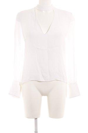 Zara Woman Sweatshirt weiß schlichter Stil