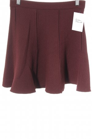 Zara Woman Circle Skirt carmine casual look