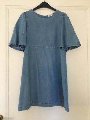 Zara Woman Tencel Kleid Größe S