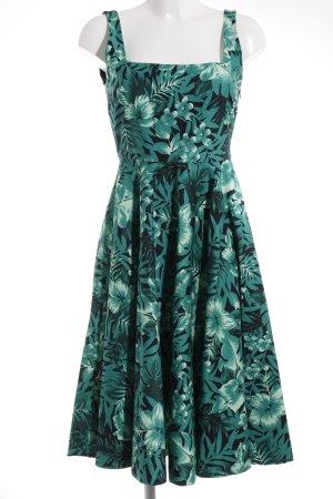 Zara Woman Robe à bretelles motif floral Look de plage