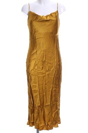 Zara Woman Overgooier oker straat-mode uitstraling