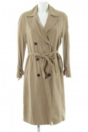 Zara Woman Trenchcoat wollweiß Business-Look