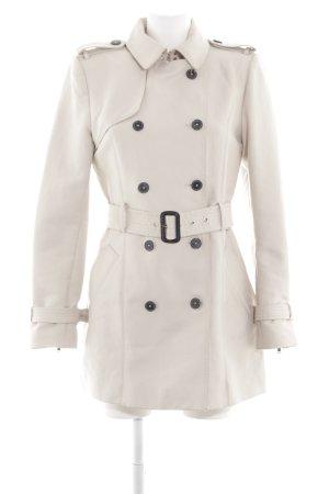 Zara Woman Trenchcoat blanc style classique