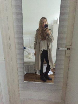 Zara Woman Trenchcoat Beige Gr S