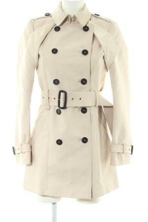 Zara Woman Trenchcoat creme Business-Look
