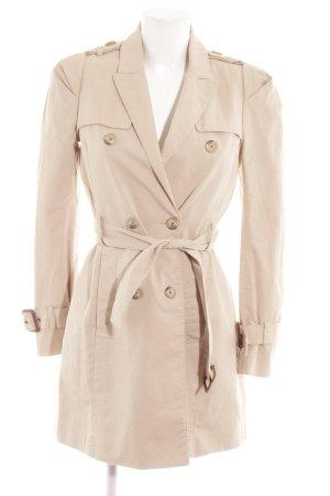 Zara Woman Trench beige chiaro stile classico