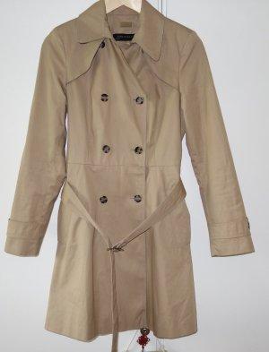 Zara Woman Trenchcoat Mantel Gr. M (38) klassisch beige mit Gürtel