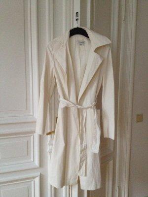 Zara Woman Trenchcoat Mantel Jacke offwhite Trend