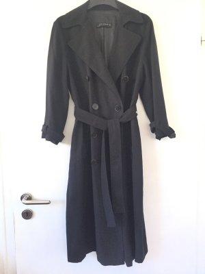 Zara Woman Trenchcoat Mantel lang Schwanz 36 S