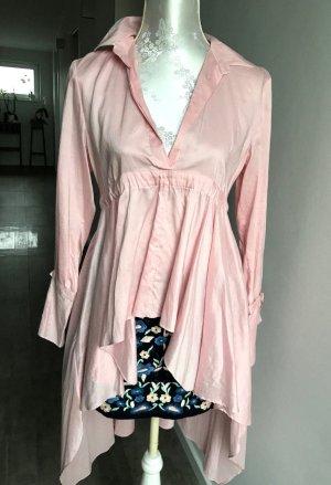 Zara Tunique-blouse rosé coton