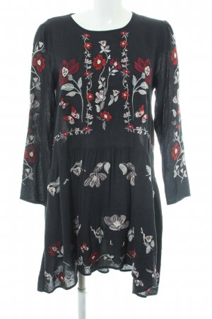 Zara Woman Tunic Dress flower pattern elegant