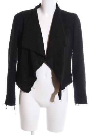 Zara Woman Tweed Blazer black business style
