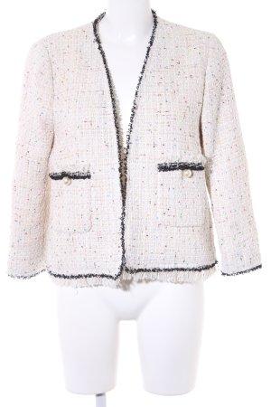 Zara Woman Tweedblazer creme Webmuster Elegant