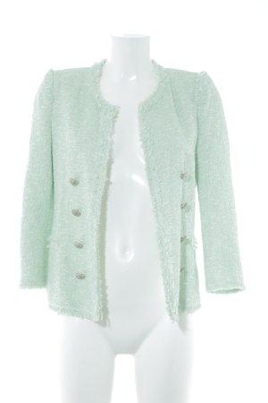 Zara Woman Tweed blazer pied-de-poule patroon elegant