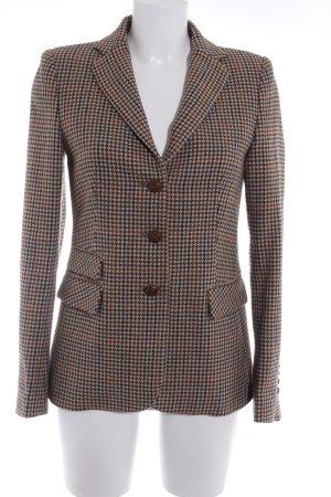 Zara Woman Tweed blazer pied-de-poule patroon straat-mode uitstraling