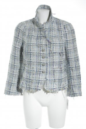 Zara Woman Tweedblazer Karomuster klassischer Stil