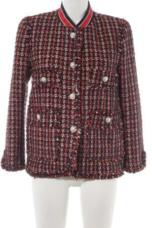 Zara Woman Tweedblazer mehrfarbig Elegant