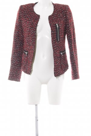 Zara Woman Tweedblazer Webmuster Casual-Look