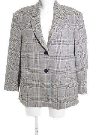 Zara Woman Tweedblazer weiß-schwarz Hahnentrittmuster Business-Look