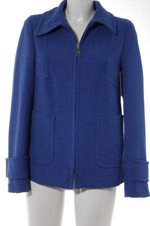 Zara Woman Übergangsjacke blau Casual-Look