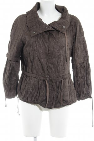 Zara Woman Übergangsjacke dunkelbraun Casual-Look