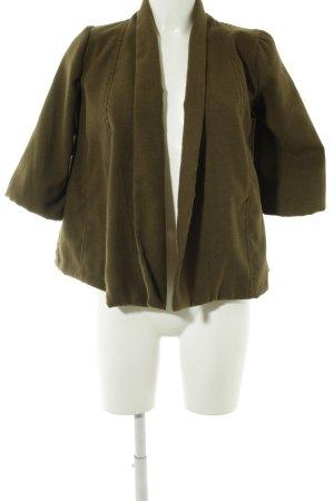 Zara Woman Übergangsjacke khaki schlichter Stil