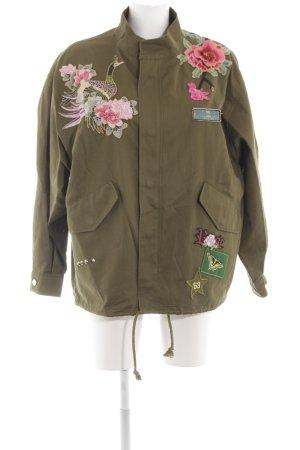 Grün Zara Damen Jacke