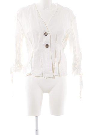 Zara Woman Übergangsjacke wollweiß Elegant
