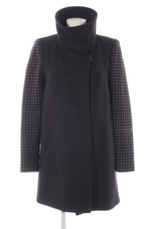 Zara Woman Übergangsmantel dunkelblau Business-Look