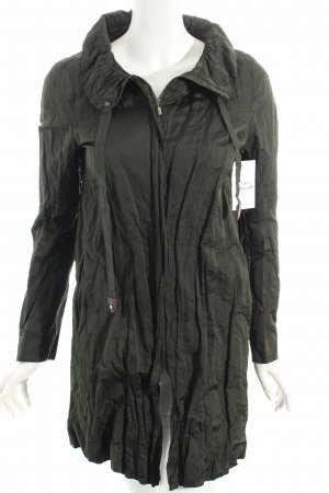 Zara Woman Übergangsmantel dunkelgrün Casual-Look