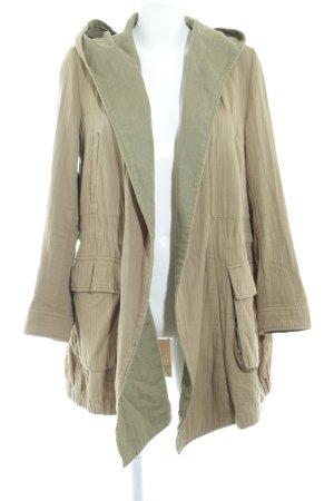 Zara Woman Übergangsmantel olivgrün Casual-Look