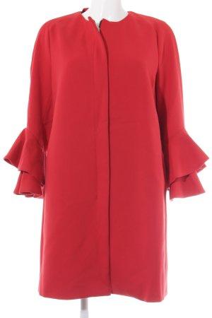 Zara Woman Übergangsmantel rot Elegant