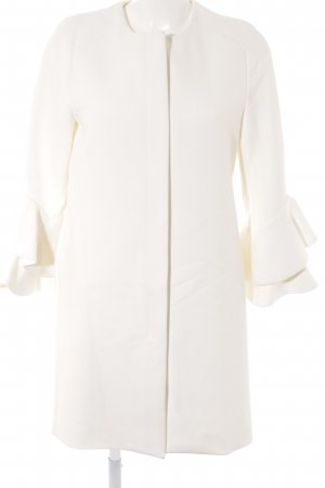 Zara Woman Between-Seasons-Coat natural white business style