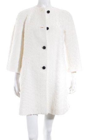 Zara Woman Übergangsmantel wollweiß Casual-Look