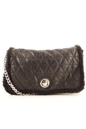 Zara Woman Umhängetasche schwarz Elegant