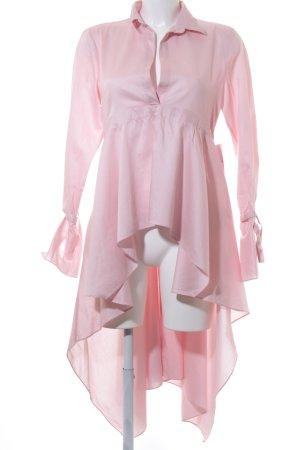 Zara Woman Vokuhila-Kleid hellrosa Romantik-Look