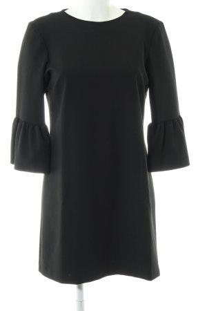 Zara Woman Flounce Dress black business style