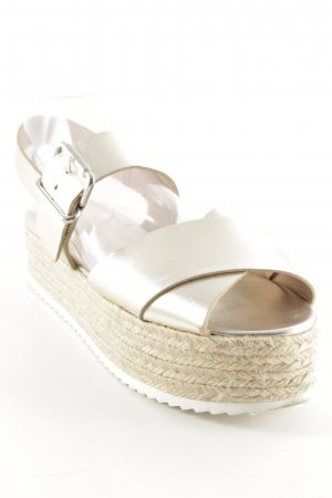Zara Woman Wedge Sandals multicolored beach look