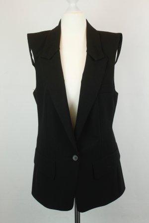 Zara Woman Weste Gr. S schwarz lang