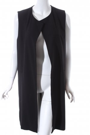 Zara Woman Weste schwarz schlichter Stil