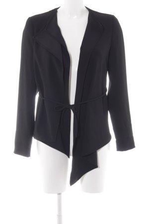 Zara Woman Chaqueta cruzada negro estilo «business»