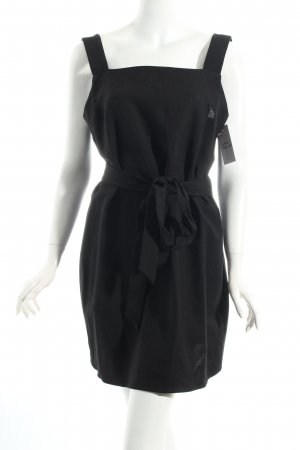 Zara Woman Wickelkleid schwarz Beach-Look