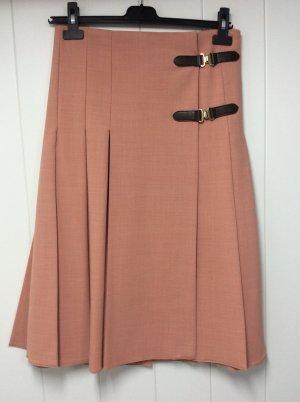 Zara Woman Wraparound Skirt salmon