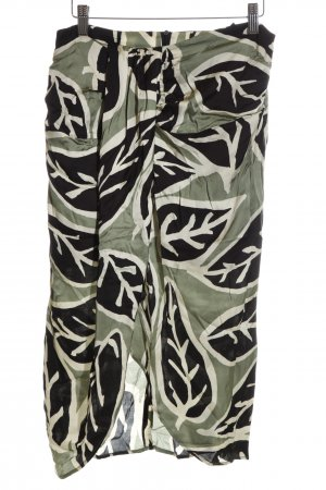 Zara Woman Bandeau Dress allover print casual look