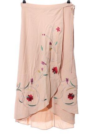 Zara Woman Wraparound Skirt floral pattern elegant